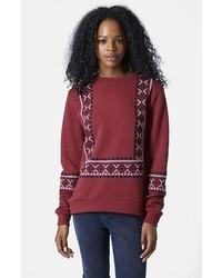Embroidered sweatshirt medium 150586