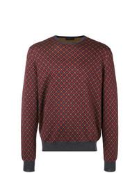 Prada Geometric Knit Sweater