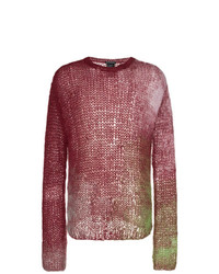 Ann Demeulemeester Multicolour Mohair Knitted Jumper