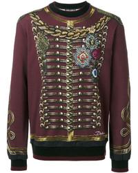 Dolce & Gabbana Regital Military Print Sweatshirt