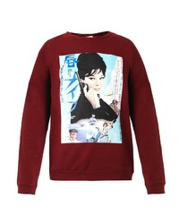 Verdiana monica vitti print sweatshirt medium 150585