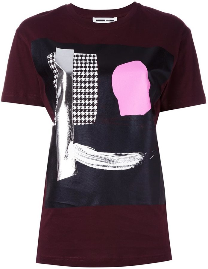 Shirts Pour Shirt Imprimé Homme By Mcqueen Alexander Mcq T fgvYbyI76m