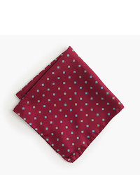 J.Crew Italian Silk Pocket Square In Vintage Foulard