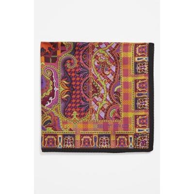 Etro Silk Pocket Square