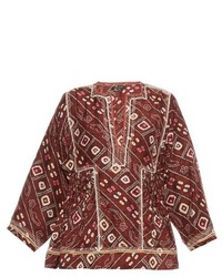 e1f744f4c1f05 Parker Marjorie Cold Shoulder Silk Blouse Out of stock · Isabel Marant  Topaz Printed Silk Top