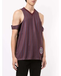 Martine Rose Football Cut Out Vest