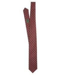 Ralph Lauren Preppy Bear Madison Tie Wine