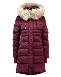 Calvin Klein Opra Basic Down Coat Bordeaux