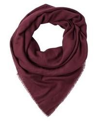 Mill scarf burgundy medium 4138867