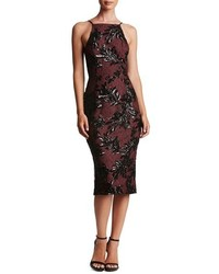 Dress the Population Ashley Sequin Lace Sheath Dress