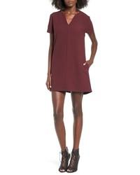 Leith V Neck Shift Dress