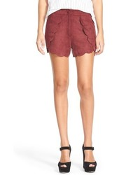 Leith Faux Leather Shorts