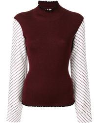 f9cfb2349a7d3 Burgundy Silk Blouses for Women