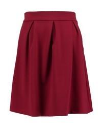 mint&berry A Line Skirt Rhubarb