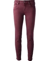 Burgundy skinny jeans original 3873977