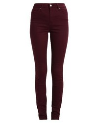 721 high rise skinny jeans skinny fit soft malbec medium 3895039