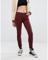 Burgundy skinny jean medium 823865