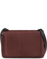 Mini aston snake embossed leather crossbody bag medium 779179