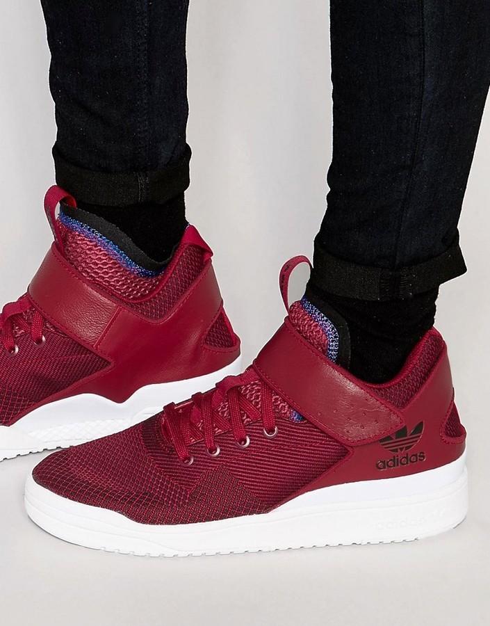 5e0c3573da2 ... Burgundy Sneakers adidas Veritas X Sneakers ...