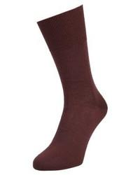 Falke Airport Socks Mahogany