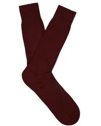 Pantherella Danvers Ribbed Knit Socks
