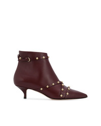 RED Valentino Rockstud Ankle Boots