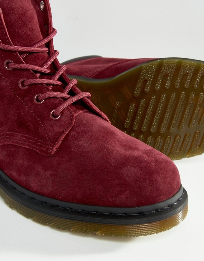 91055287ca0 Dr Martens 939 6 Eye Suede Boots
