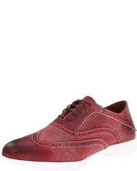 Burgundy Suede Brogues