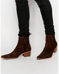 Suede chelsea boots medium 575792