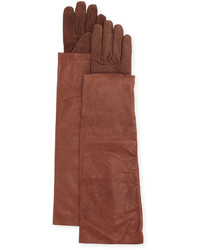 Burgundy Suede Gloves