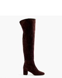 J.Crew Suede Over The Knee Boots
