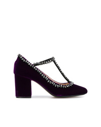 N°21 N21 Embellished Mary Jane Pumps