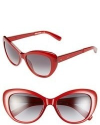 Bobbi Brown 54mm Cat Eye Sunglasses Burgundy