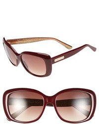 Jimmy Choo 56mm Sunglasses Havana