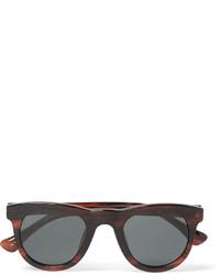 Dries Van Noten Linda Farrow Square Frame Acetate Sunglasses
