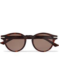 CUTLER AND GROSS Round Frame Tortoiseshell Acetate Sunglasses