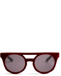 Italia Independent Velvet Coated Sunglasses