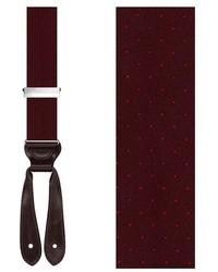 Trafalgar Dalton Dot Silk Suspenders