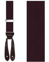 Donegal wool blend suspenders medium 378748