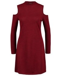 New Look Jumper Dress Dark Burgundy