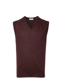 Cerruti 1881 Sleeveless Fitted Sweater