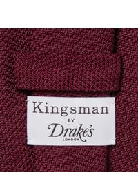 f5cb19fc52ca Drakes Kingsman Drakes 8cm Silk Grenadine Tie, £123 | MR PORTER ...