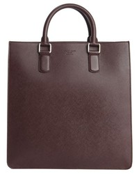 Burgundy Tote Bag