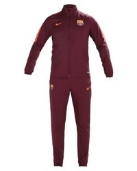 Nike Fc Barcelona Set 20172018 Tracksuit Night Maroonnight Maroonhyper Crimson