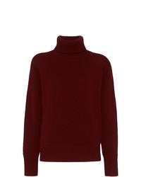 Burberry Archive Logo Appliqu Cashmere Roll Neck Sweater