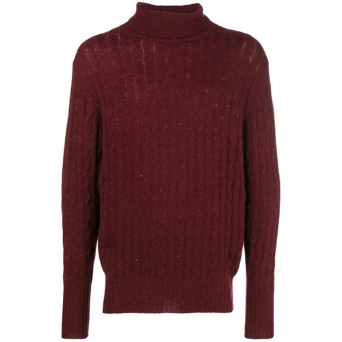 N.Peal Cable Roll Neck Jumper