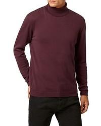 Topman Lightweight Turtleneck Sweater