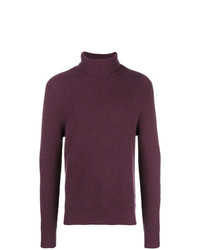 N.Peal Ribbed Roll Neck Jumper