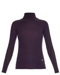 Kenzo Roll Neck Merino Wool Sweater