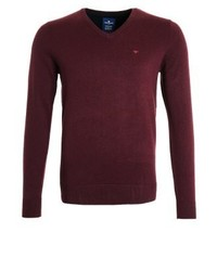 Jumper dark berry red melange medium 4158759